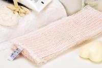 [TAITRA] Marshmallow- Check Embroidery Exercise Bath Towel