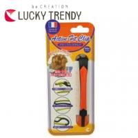 French SPA Japan LUCKY-Active Anti-pain lightweight moisture hairpin (Orange)