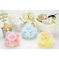 Color Fun- cross-woven exfoliating bath ball