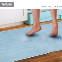 [TAITRA] UdiLife Fluff Mats / Extra-Long / Gray Blue
