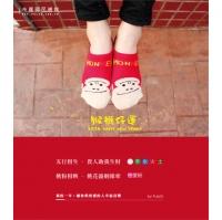[TAITRA] 【 PuloG 】2016 Lucky Monkey Socks - Love Pink - M