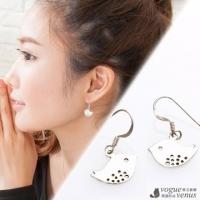 [TAITRA] 【VOGUE VENUS】 The Proud of Spring.3D Mini Birds Molding Drop Earrings
