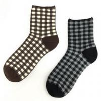 [TAITRA] Plaid - Girls' Socks