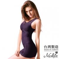 [TAITRA] 【Mollifix】เสื้อกระชับสัดส่วน เผยสัดส่วนเอวและหน้าอกที่สวยงาม ไซส์ M-L (สีม่วง)