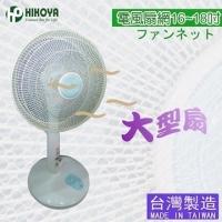 """[TAITRA] 【HIKOYA】 Fan Anti-Dust Protection Net 16-18 """"""""Large Fan (3 Pieces)"""
