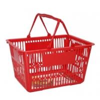 Large shopping basket - red
