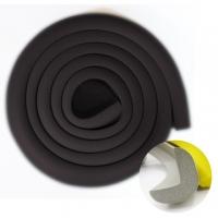 [TAITRA] [BabyTiger] Extra-Thick Furniture Edge Cushion & Corner Guard Set L Shape (200cm Pack of 1 - Black)