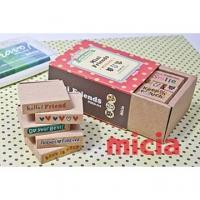 [TAITRA] MMS09 Stamp Set - Bear Friendship Words