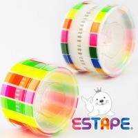 [TAITRA] 【Seal King】Easy Remove ESTAPE-Writeable (Set of Colour + Transparent Memo)