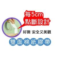 [TAITRA] 【ESTAPE】Easy-Tear Double Sides Tissue Tape 12mmx5M(6 Pcs)