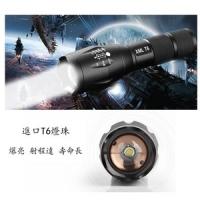 [TAITRA] CREE High Brightness Zoom Flashlight made of aluminum alloy XML-T6