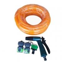 [TAITRA] Sprayer Set with 7.5m Hose and Sprayer Head, Orange