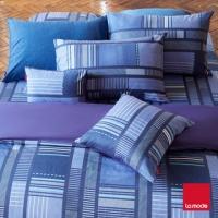 [TAITRA] 【ชุดที่นอน La mode】ชุดที่นอนลายตารางแบบผ้าฝ้ายหวีย้อมสี (เตียงคู่)