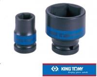 "[TAITRA] KING TONY - Professional Tools - 1/2"""" DR. Metric Hex Pneumatic Standard Socket - KT453541M"