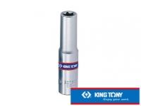 [TAITRA] KING TONY Professional Tools 1/4DR. Hex Star Shape Socket E6 KT227506M
