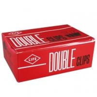[TAITRA] LIFE Black Binder Clips 108/51mm/222/12 Pieces /Box /2Box /Set