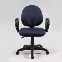 [TAITRA] Pinter Pneumatic Ergonomic DIY Office Chair / Computer Desk Chair - Blue White Polka Dot
