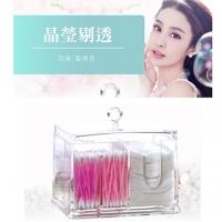 [TAITRA] 【Cosmetics Storage】 Transparent Acrylic Rack (Cotton Buds, Cotton Pads)