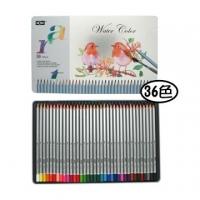 MONA 36 Color soluble colored pencil (tin)