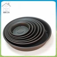 [TAITRA] 【Vegetable Farm】 Plastic Pots No.7 - Tray Black