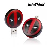 [TAITRA] InfoThink - DeadPool - OTG Dual Flash Drive - 32GB