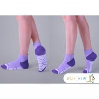 [TAITRA] sunair - Sterilized Anti-odor Socks - Endurance Running Socks - Crew (M21~24.5) /SA0402