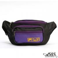 [TAITRA] WAIPU MIT Lightweight Water Repellent Ship Shape Waist Bag Anti-Theft Bag (Fashionable Purple) 728