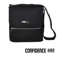 [TAITRA] Travel Slim Bag Fashionable Multi-Functional Crossbody Bag Big [Confidence] 182 --Mysterious Black