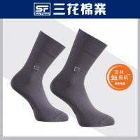[TAITRA] SunFlower Seamless Gentleman Casual Socks - Iron Gray