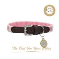 Cherie love pink collar