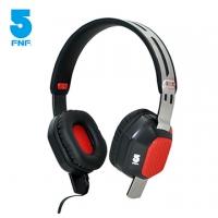 (ifive)[Ifive] L500 Steel Series full-face bass Tide brand headphones (Red Steel)