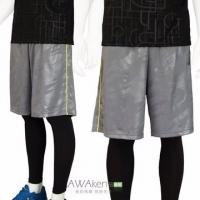 (AWAken)Men's basketball pants Hi-Cool super fast suction leopard gray casual shorts shorts