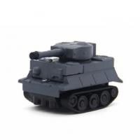 (ToysQ)ToysQ draw line induction car tank series - gray blue
