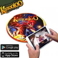 (Kazooloo)Kazooloo Vortex disc sensing game Augmented Reality