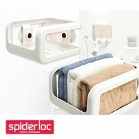 (Spider Loc)Korea [Spider Loc] knob sucker bathroom corner storage rack (GS-3612)
