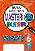 (PEP PUBLICATIONS SDN BHD)BUKU LATIHAN MASTERI A MATEMATIK TAHUN 6 KSSR SEMAKAN 2020