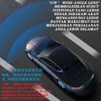 Car Night Vision Dual Lens Dash Cam 1080p FHD DVR 3 inch O-LED Screen Journey Recorder