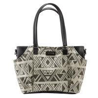 (SOLIS)SOLIS [Nile Secret Series] Stitching Leather Portable/Dual Bag (Black Pharaoh)