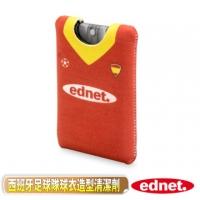 曜兆EDNET 歐洲足球隊球衣造型螢幕清潔劑-西班牙(紅)