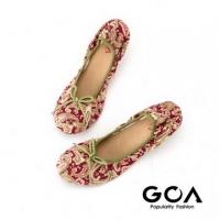 (GOA)GOA amoeba folding baby shoes - pink yellow