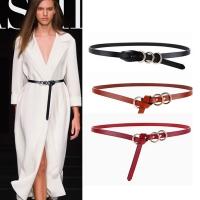 (狐狸姬)Fox girl, three-ring mountain shirt leather female thin belt belt