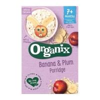 【英國Organix】有機全穀鮮果麥精-香蕉黑棗200g