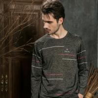 (Valentino Rudy)Valentino Rudy Fan Lun. Ludi Sunscreen Breathable Long Sleeve T-Shirt - Black Grey