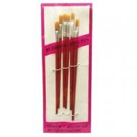 (益展-文具)6 plastic rod watercolor pen