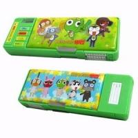 (Keroro) Keroro Gunso multifunctional pencil case - Green