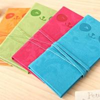 4-color leather strap Panda present (not pick color)