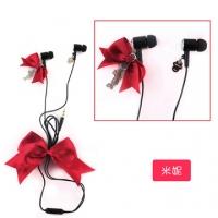 (Disney)Disney Disney princess wind bow aluminum bass-ear headphones _ Minnie