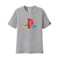 PlayStation classic LOGO T-shirt (gray)