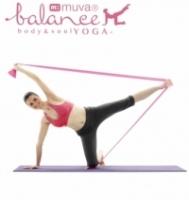 muva elastic stretch yoga group (firefly powder featherweight)