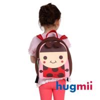 (Hugmii)(Hugmii) childlike shape shoulder backpack _ ladybug